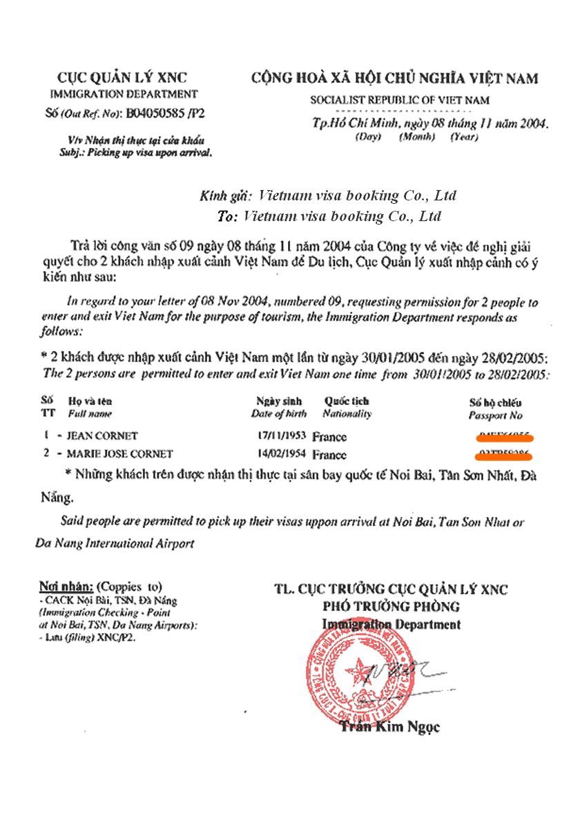 frequently asked questions  vietnam visa inquiries
